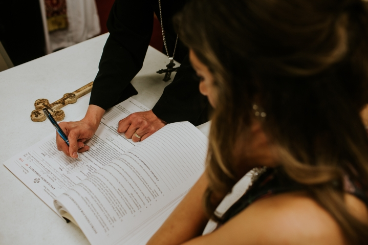 signing the betrothal contract coptic engagement