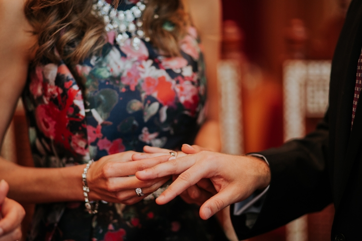 exchange of rings coptic engagement ceremony